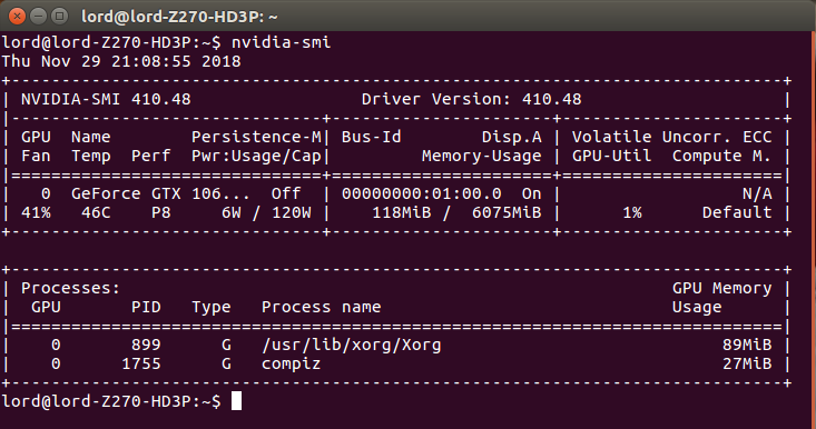 Install nvidia drivers ubuntu 410 | Peatix
